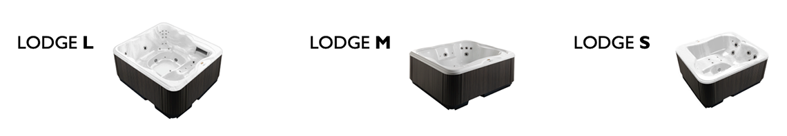 Jacuzzi- modello Lodge L - Lodge M - Lodge S